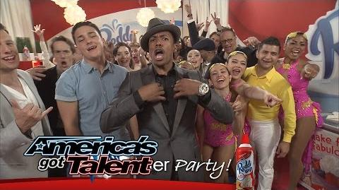 Reddi-Wip After Party Aggressive, Magical Performances and More - America's Got Talent 2014