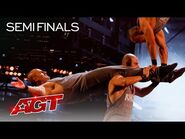 Rialcris Performs an AWESOME Hand-Balancing Act - America's Got Talent 2021
