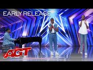 """Early Release- 1aChord Sings an Emotional Cover of """"Fix You"""" by Coldplay - America's Got Talent 2021"""