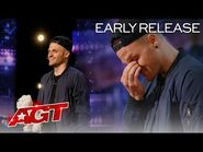 Early Release- Dustin Tavella Performs Heartwarming Magic - America's Got Talent 2021