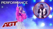 "Ozuna and Benicio Bryant Sing ""Baila Baila Baila"" and ""Taki Taki"" - America's Got Talent 2019"