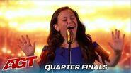 Roberta Battaglia Sofia's Golden Buzzer Renders Kelly Clarkson SPEECHLESS At The Quarterfinals