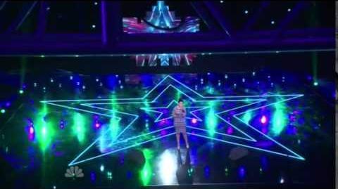 America's Got Talent 2014 Kelli Glover New York Week Day 1