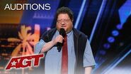 LOL!! The Best Puns From The King Of One Liners Kevin Schwartz - America's Got Talent 2019-0