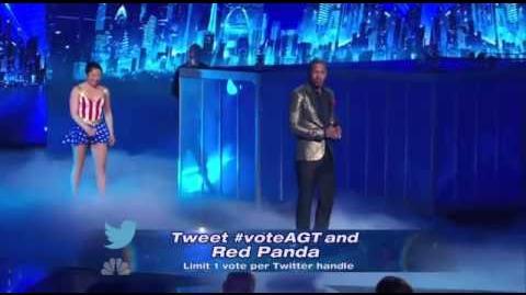 Red Panda - America's Got Talent 2013 Season 8 - The Semi-Finals FULL