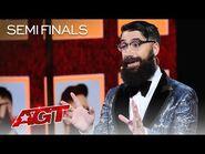 Peter Antoniou Turns Terry Crews Into a PSYCHIC! - America's Got Talent 2021