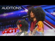 """The Curtis Family C-Notes Performs """"I Was Made to Love Her"""" - America's Got Talent 2021"""