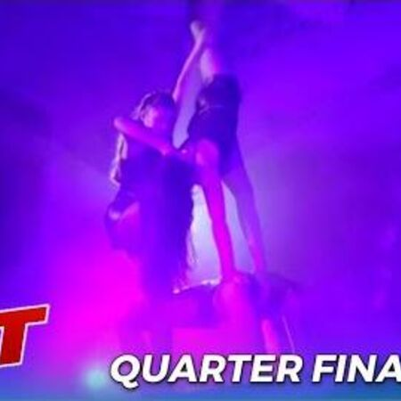 Bello Sisters Sibling Acrobatic Trio DELiver Sizzeling HOT Sexy Act on AGT Quarterfinals