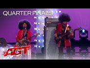 """The Curtis Family C-Notes Sings an INSPIRING Cover of """"Love Train"""" - America's Got Talent 2021"""