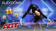Marina Mazepa Is A Beautiful Ballerina With A Twist On Contortion! - America's Got Talent 2019