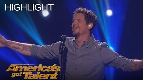 Michael Ketterer Sings Song Written For Him By Garth Brooks - America's Got Talent 2018