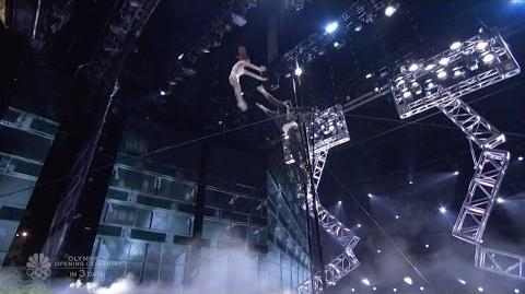 America's Got Talent 2016 ThroWings Incredible Human Trapeze Aritists Live Shows Round 2 S11E14