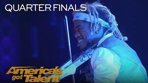 "Brian King Joseph Violinist Performs Epic Rendition Of ""Centuries"" - America's Got Talent 2018"