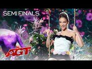 Léa Kyle Performs DAZZLING Quick-Change - America's Got Talent 2021