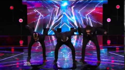 America's Got Talent 2014 Dragon House The Agents New York Week Day 1