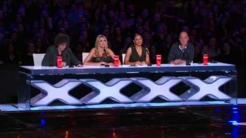 America's Got Talent 2015 Shel Higgens Auditions 5