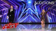 Voce Nova Delivers Unexpected Twist on an Opera Hit! - America's Got Talent 2020