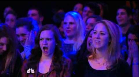America's Got Talent 2015 Grand Master Qi Feilong Auditions 6