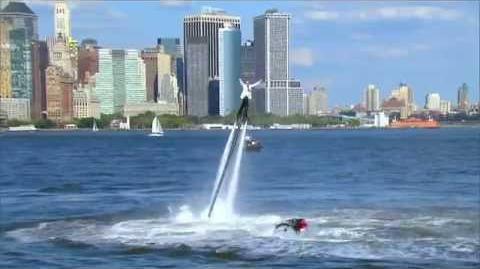 America's Got Talent 2015 S10E17 Live Shows - Damone Rippy Flyboarder
