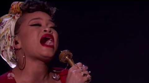 Andra Day & Blue Journey LIVE Semi-final Results Show America's Got Talent 2016