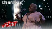 """Cristina Rae's Stunning Cover of """"Jump"""" Might Make You Cry - America's Got Talent 2020"""