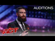 Psychic Peter Antoniou Reads the Judges' MINDS! - America's Got Talent 2021