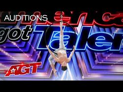 Teen Aerialist Aidan Bryant Spins FAST While Flying High - America's Got Talent 2021