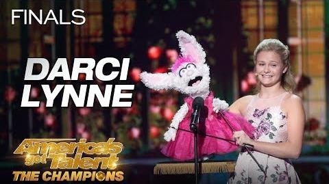 "Darci Lynne Teen Ventriloquist Sings ""O Mio Babbino Caro"" - America's Got Talent The Champions"