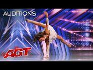 """Breez Carver Dances to """"Piece by Piece"""" by Kelly Clarkson - America's Got Talent 2021"""