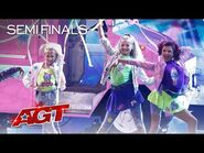 "Beyond Belief Dance Company SLAYS Choreo to ""Me Too"" by Meghan Trainor - America's Got Talent 2021"