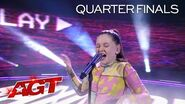 "12-Year-Old Annie Jones Sings ""Rain on Me"" by Lady Gaga - America's Got Talent 2020"