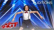 Kid Dancer Noah Epps Delivers Cool Marionette Performance - America's Got Talent 2020-0
