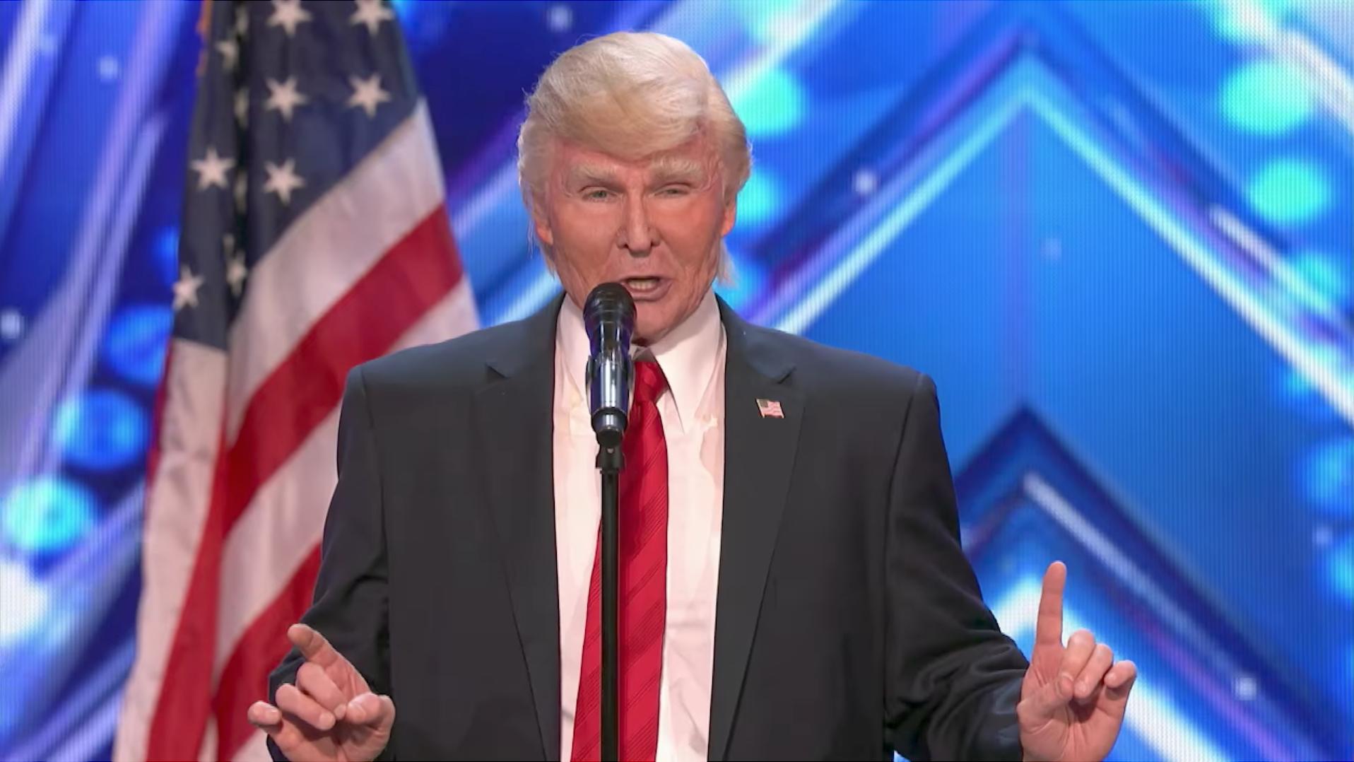 The Singing Trump