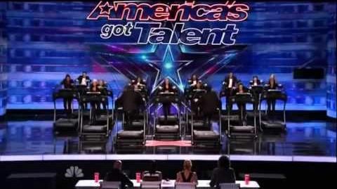 America's Got Talent 2015 The Treadmill Dance Crew Auditions 2
