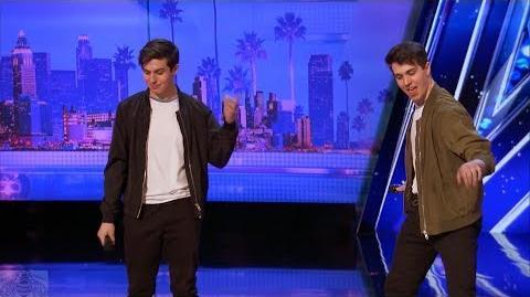 America's Got Talent 2017 Mirror Image Full Intro & Audition S12E06
