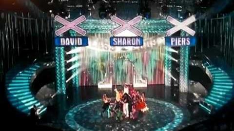 AMERICA'S GOT TALENT 2009 HAIRO TORRES DANCE MOVE