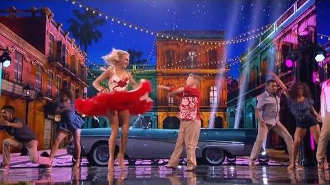 America's Got Talent 2016 Alla & Daniel Novikov Mom & Son Dancers Live Shows Round 3 S11E16