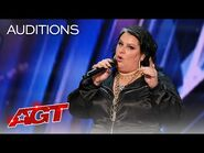 """Sarah Potenza Adds a Stunning Spin to """"Worthy"""" by Mary Gauthier - America's Got Talent 2021"""