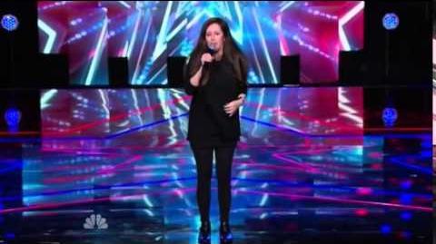America's Got Talent 2014 Wendy Liebman New York Week Day 1