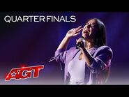 """Brooke Simpson Sings a POWERFUL Cover of """"Lost Cause"""" by Billie Eilish - America's Got Talent 2021"""