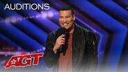 Michael Yo Gets the Audience Rolling With Jokes About Getting Older - America's Got Talent 2020-1