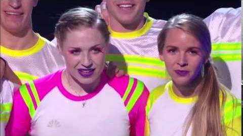 America's Got Talent 2014 Flight Crew Jump Rope Quarterfinal 1