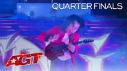 WOW! Feng E Delivers an EPIC Ukulele Mashup! - America's Got Talent 2020