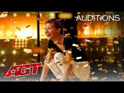 Golden Buzzer- Nightbirde's Original Song Makes Simon Cowell Emotional - America's Got Talent 2021
