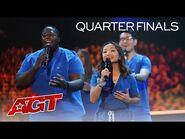"Northwell Health Nurse Choir Sings ""You Will Be Found"" - America's Got Talent 2021"