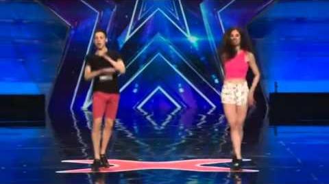 America's Got Talent 2015 Owen & Gia Auditions 3