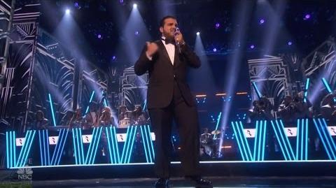 America's Got Talent 2016 Semi-Finals Crooner Sal Valentinetti S11E18