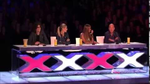 America's Got Talent 2013 Audition - Fail! Chris the Wedding DJ Comedy Performance Fail