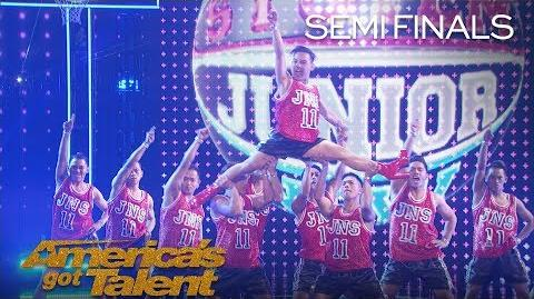 Junior New System Men In Heels Deliver Fierce Performance On AGT - America's Got Talent 2018