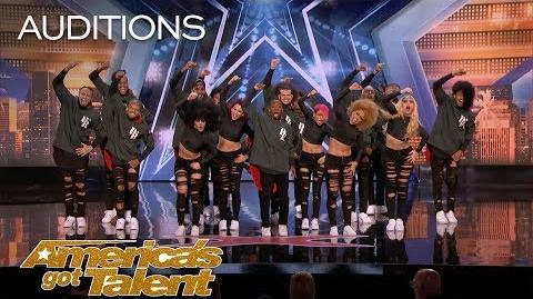 Da Republik Dance Group From Dominican Republic Chases American Dream - America's Got Talent 2018